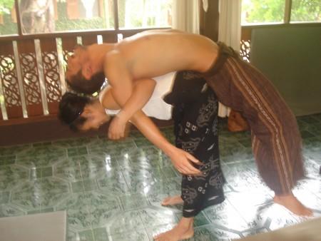 Massage Thai du Dos